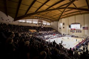 Basketball Game in Alumni Coliseum